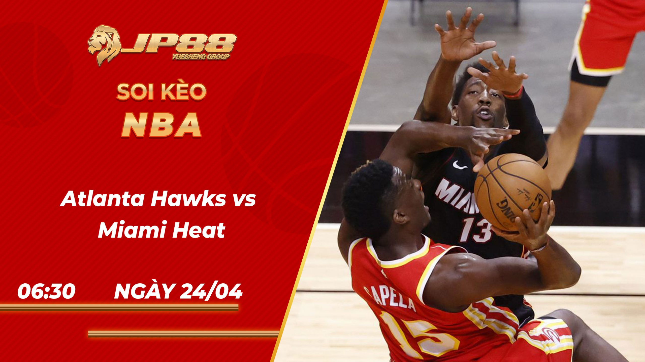 Soi kèo bóng rổ Atlanta Hawks vs Miami Heat 06h30 24/04/2021 – NBA