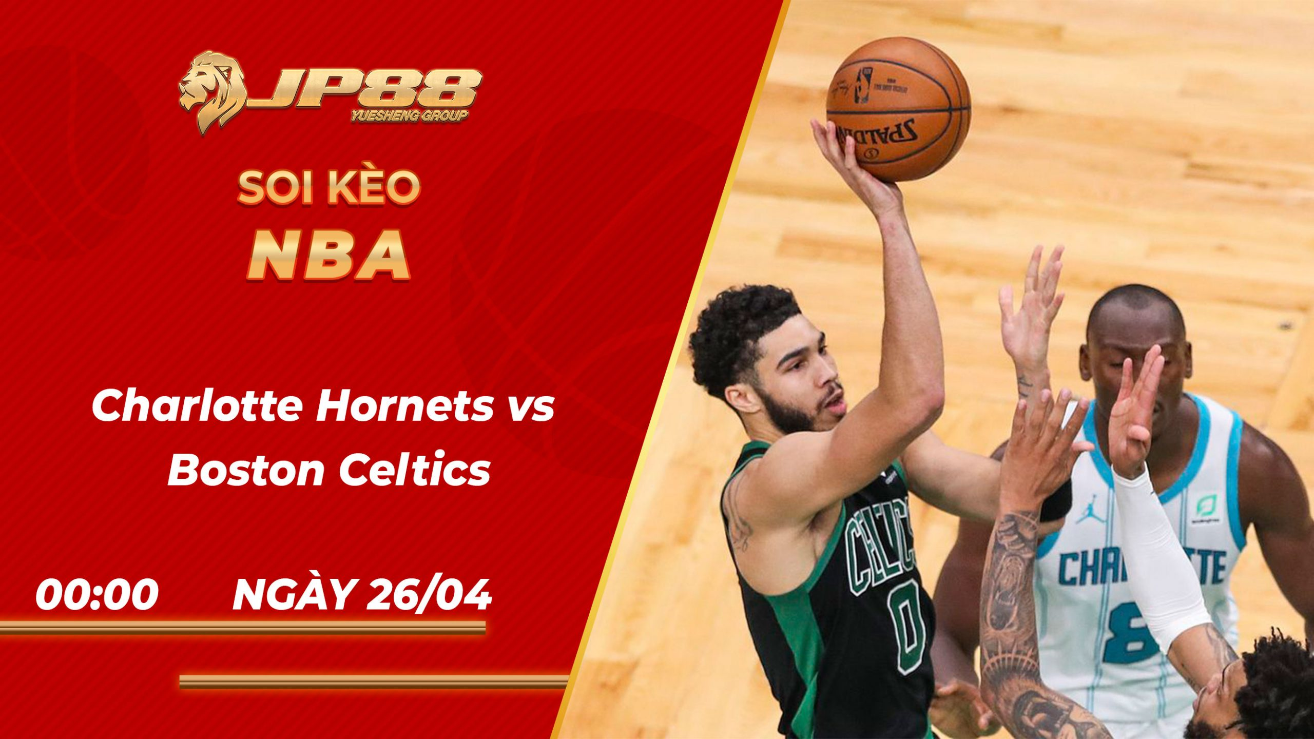 Soi kèo bóng rổ Charlotte Hornets vs Boston Celtics 00h00 26/04/2021 – NBA