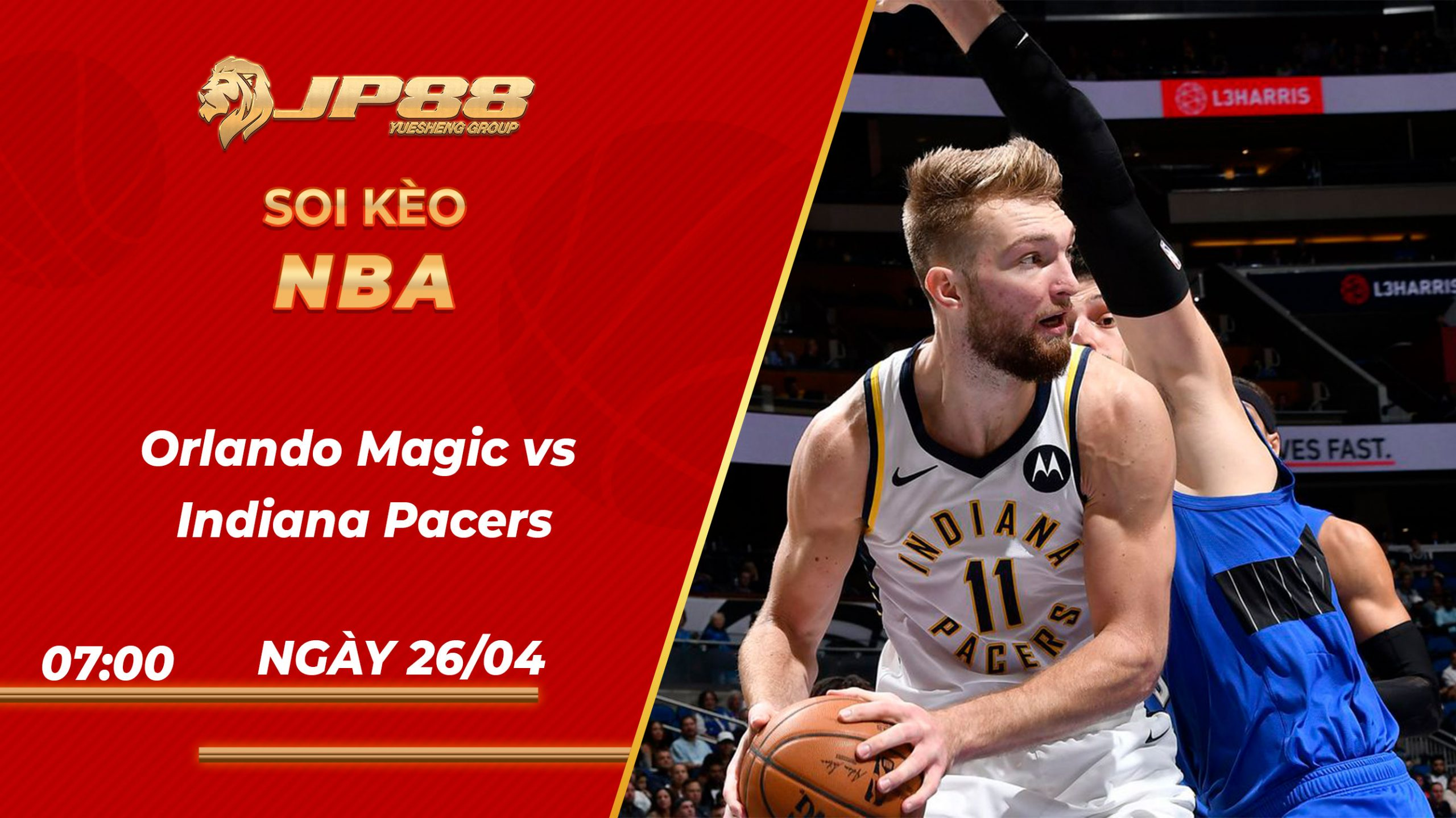 Soi kèo bóng rổ Orlando Magic vs Indiana Pacers 07h00 10/04/2021 – NBA